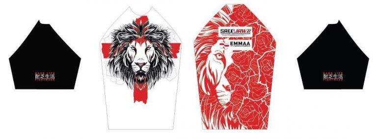 Official England MMA Kit 2019