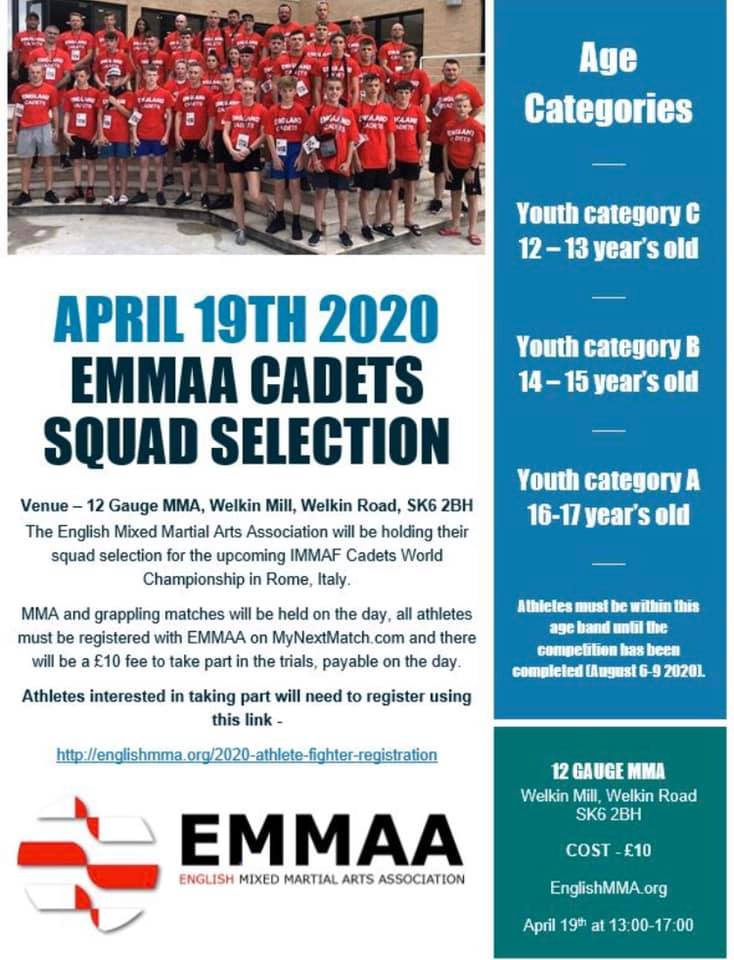 CADETS ANNOUNCEMENT