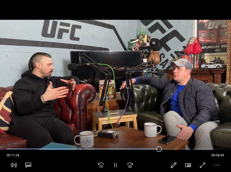 Marc Goddard and Dan Hardy talk about EMMAA