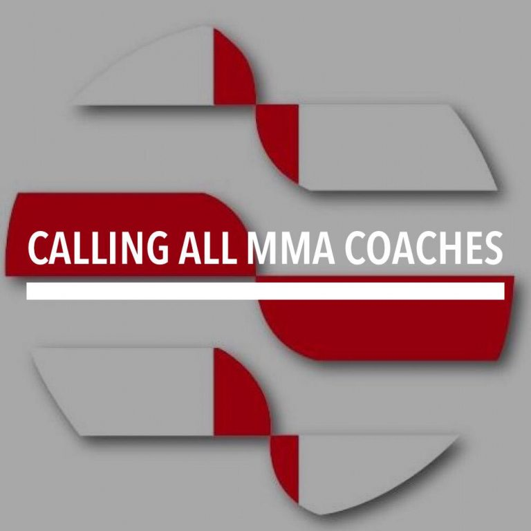 Calling all MMA Coaches…