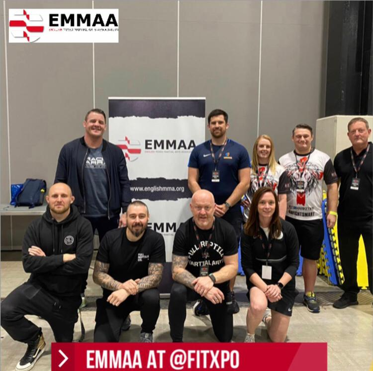 English Mixed Martial Arts Association supports major sports and fitness event