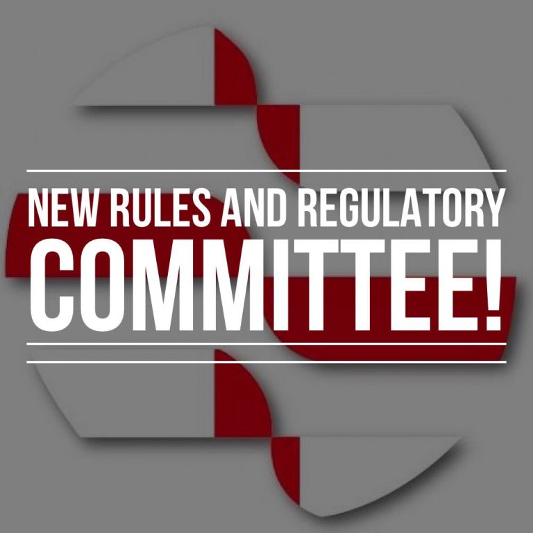 New rules and regulatory committee strengthens EMMAA
